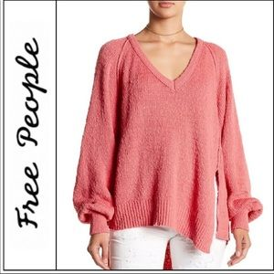FREE PEOPLE West Coast Pullover Loose Oversized XS